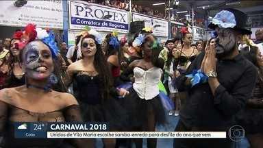 México é o tema do samba-enredo da Unidos de Vila Maria para o carnaval 2018 - O samba-enredo vencedor vai levar para a avenida um pouco da história e da cultura do México.