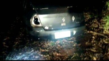Guarda Municipal recupera carro roubado - Suspeita é que o veículo seja de Santa Terezinha de Itaipu.