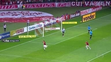 Internacional vence o Paysandu e assume a liderança da Série B - Internacional vence o Paysandu e assume a liderança da Série B