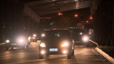 Falta de iluminação gera transtornos da capital sergipana - Falta de iluminação gera transtornos da capital sergipana.