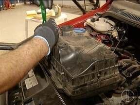 Falta de manutenção pode levar a perda do motor do carro - Filtros de água e combustível devem ser trocados periodicamente.