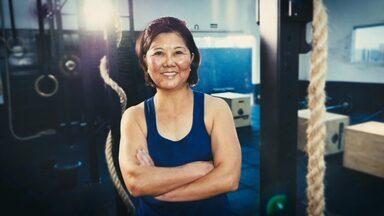 Super 60: conheça a Helena, que arrasa no crossfit - Um mulherão cheio de força!