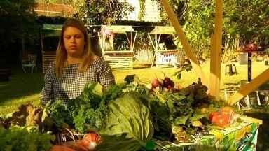Feira com produtos orgânicos é realizada na Região Serrana do Rio - Assista a seguir.