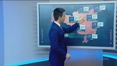 Confira a previsão do tempo para Santa Catarina neste domingo (27) - Confira a previsão do tempo para Santa Catarina neste domingo (27)