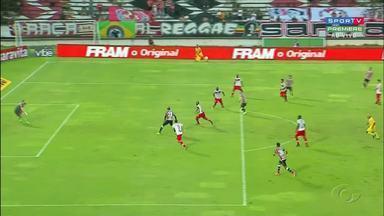 CRB vence o Santa Cruz de virada por 2x1 - Galo subiu para 7ª colocação na tabela.