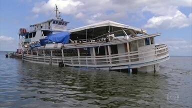 Dono do barco que virou no Xingu admite irregularidade: 'Crise' - Semana foi marcada pelos naufrágios no Pará e na Bahia. Em entrevista exclusiva, dono do barco que virou no Xingu admite que transportava passageiros sem licença e que precisava habilitar mais tripulantes.