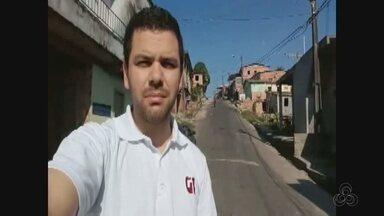 Autônomo é morto a tiros enquanto confraternizava com amigos no Braga Mendes, em Manaus - Polícia suspeita que traficante tenha ordenado o crime.