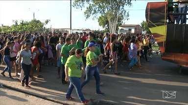 Evangélicos participam 8ª Marcha para Jesus em Santa Inês - Evento aconteceu durante o final de semana no município.