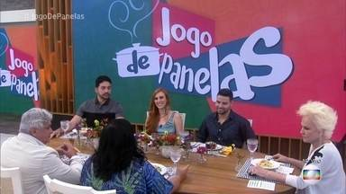 Participantes do 'Jogo de Panelas 22' se reúnem na Casa de Cristal - Jorge, Wane, Raul, Lorena e Paulo se reencontram para a final do reality e oferecem pratos especialmente feito para seus amigos