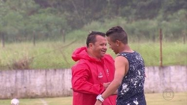 Atacante Erick de saída do Náutico para o Braga-POR - Atacante Erick de saída do Náutico para o Braga-POR