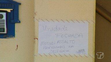 Unidade Básica de Saúde Aparecida-Caranazal fecha após furto por casal, em Santarém - Um dos suspeitos é policial militar afastado por problemas mentais. A orientação para a população é dirigir-se a UPA ou HMS