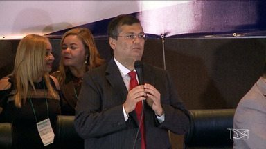 Denúncia contra governador Flávio Dino é enviada ao STJ - Denúncia sobre caixa dois contra o governador Flávio Dino é enviada pela Procuradoria Geral da República ao Superior Tribunal de Justiça (STJ), em Brasília.