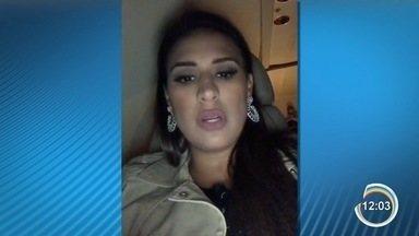 Simone e Simaria passam por susto durante incêndio em hotel de São José - Sertaneja Simone tranquilizou os fãs por meio das redes sociais.