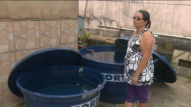 Algumas localidades permanecem sem água após fim do racionamento - Segundo a Cagepa, 3% da área que recebe água do Açude de Boqueirão, em Campina Grande, ainda não está com o abastecimento normalizado.