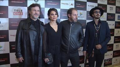 """Pré-estreia do filme """"Polícia Federal - a lei é para todos"""", foi em Curitiba - A pré-estreia do filme reuniu o elenco e integrantes da força-tarefa da Lava Jato."""
