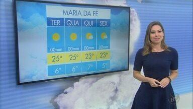 Confira a previsão do tempo para esta terça-feira (29) no Sul de Minas - Confira a previsão do tempo para esta terça-feira (29) no Sul de Minas
