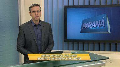 Curso de informática básica para idosos estão com inscrições abertas - O curso é ofertado pela PUC Londrina, os interessados devem levar um documento com foto até a universidade.