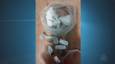 Drogas e cachimbos são encontrados em banheiro de escola no Centro de Macapá - Adolescente é suspeito de esconder a droga. Apreensão ocorreu na noite de segunda-feira (28) em Macapá.