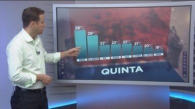Confira a previsão do tempo para Santa Catarina nesta quarta-feira (30) - Confira a previsão do tempo para Santa Catarina nesta quarta-feira (30)