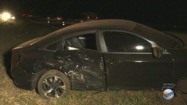 Funcionário de seguradora morre atropelado na Rodovia Candido Portinari em Batatais, SP - Vítima guinchava um carro que havia se envolvido em um acidente na rodovia. Trecho está em obras.