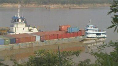 Nova rota da castanha boliviana conta com apoio do porto de Porto Velho - Embaixador da Bolívia está otimista com o avanço econômico.
