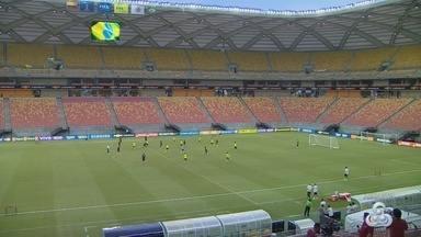 Esquema de segurança é montado para treino do Brasil na Arena da Amazônia - Time treina em Manaus neste sábado (2).