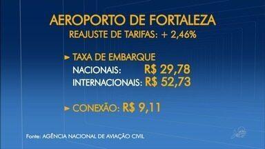 Tarifas aéreas no aeroporto de Fortaleza estão mais caras - Reajuste de 2,5% foi feito pela Agência Nacional de Aviação Civil.