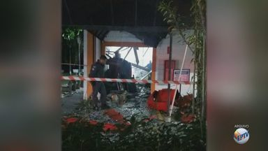 Ataques a agências bancárias assustam moradores na região de Aguaí, SP - Rotas de fuga facilitam ações de criminosos em cidades pequenas, diz delegado seccional.