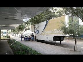 'OdontoSesc', Unidade móvel de odontologia, oferece serviços em Ipatinga - Deverão ser de 100 a 150 procedimentos até dezembro.