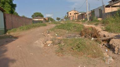 Ruas transversais de grandes vias quase não recebem manutenções estruturarias em Santarém - Um exemplo é em um trecho urbano da Rodovia Santarém Curuá-Una.