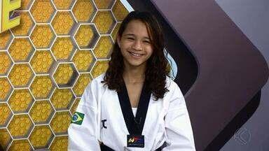 Danielly Vitória comenta experiência no Mundial de Taekwondo - Jovem lutadora de Juiz de Fora, de apenas 14 anos, competiu no Mundial do Egito e ficou perto de conquistar medalha