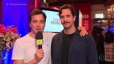 Elenco conta a história de 'Cidade Proibida' - Nova série da Globo estreia em setembro com Vladimir Brichta, Regiane Alves e grande elenco
