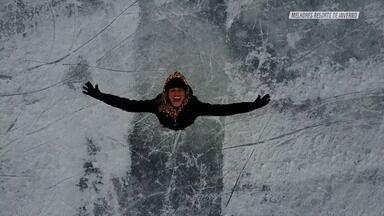 Quando Neva Em St. Moritz