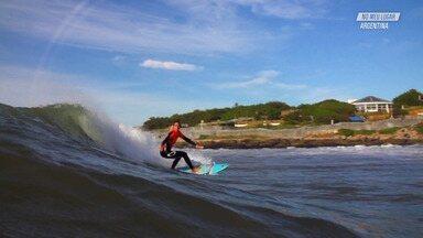 Surfe E Recordações Na Argentina