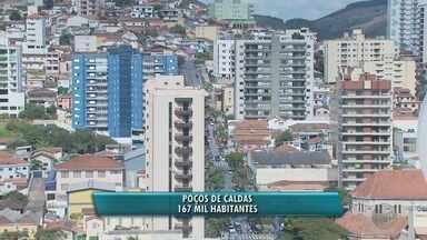 Poços de Caldas segue como maior cidade do Sul de Minas; veja estimativa do IBGE - Poços de Caldas segue como maior cidade do Sul de Minas; veja estimativa do IBGE