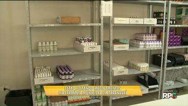 Ainda faltam medicamentos na Farmácia Municipal de Paranavaí - De acordo com a prefeitura, a situação estará normalizada até o fim de setembro.
