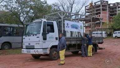 Projeto Cidade Limpa é prorrogado em Bauru - Em Bauru, o projeto Cidade Limpa ganhou mais um dia. A iniciativa da TV TEM em parceria com as prefeitura tem o objetivo de recolher materiais descartáveis e colaborar com a limpeza nas cidades.
