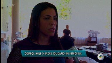 Bazar Solidário começa nesta quinta (31) em Petrolina - Além dos preços em conta, o melhor é que parte da renda será destinada a uma associação sem fins lucrativos.