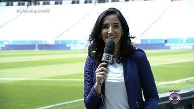 Globo Esporte RS - Bloco 3 - 31/08/2017 - Assista ao vídeo.
