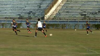Tupi-MG treina de olho em jogo contra Volta Redonda - Galo Carijó é vice-líder e está perto de garantir classificação à próxima fase da Série C do Brasileiro