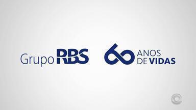 Celebrando, mas de olho do futuro: Grupo RBS completa 60 anos - Assista ao vídeo.