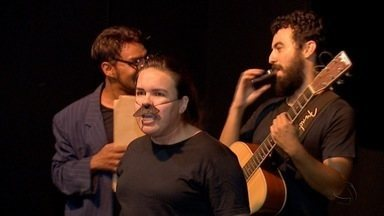 Grupo teatral faz espetáculo em Campo Grande para comemorar 29 anos da companhia - O espetáculo teatral foi um presente para o público campo-grandense.