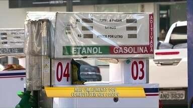 Gasolina mais cara - A semana começou com mais um aumento nos combustíveis.