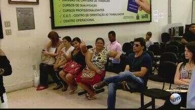 Casa do Trabalhador de São Carlos abre vagas para o 'Time do Emprego' - Além do programa, unidade oferece cursos de qualificação.