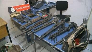 Bandidos morrem durante perseguição após explosão a banco em Brejo do Cruz - Quatro suspeitos morreram e um policial ficou ferido durante as diligências.