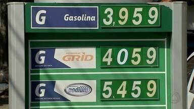 Gasolina chega a R$ 4 e postos de combustíveis ficam vazios em MS - A Petrobras já autorizou um novo reajuste de 3,3% para terça-feira (5).