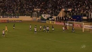 Fortaleza depende de resultado em próximo jogo para continuar em busca de vaga na Série B - Time precisava de empate no jogo deste domingo, mas acabou sendo derrotado, o que dificultou a classificação na Série C.