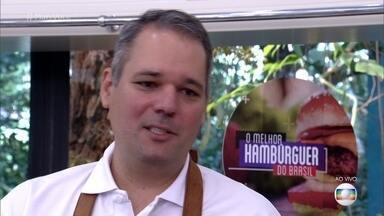 Leo Macedo aposta na carne angus para diferenciar seu hambúrguer - Pernambucano é um apaixonado por carnes e fez pós-graduação em cozinha brasileira