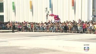 Homem é preso durante desfile de Sete de Setembro no Rio - Homem é preso durante desfile de Sete de Setembro no Rio.