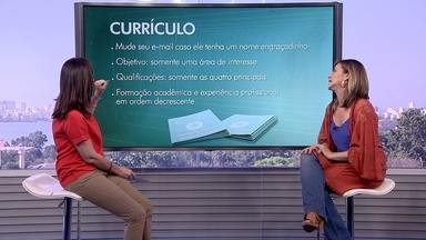 Globo Comunidade dá dicas para quem está procurando emprego - Para quem quer começar a semana procurando trabalho, especialista dá dicas para apresentar um bom currículo.